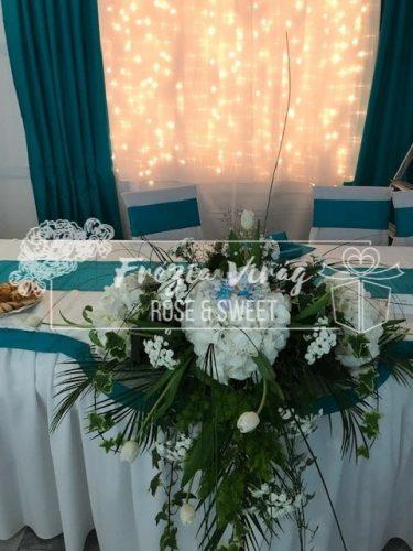 Frézia Virág - Esküvő dekoráció